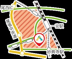 一宮市営業区域